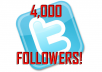 Provide 4,000 Twitter Followers [4K Real Looking Followers!]