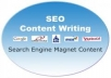 write 5 400word seo articles within a day