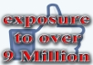 Promote your Link to 9 Million Facebook Users w/ a Positive Review or Comment