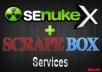 I will use SEnuke XCr and Scrapebox to create ✰ High Quality ✰ Multi Tier ✰ Google Friendly ✰ Backlinks on High PR Authority + Ping @!@