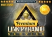 create Ultimate Link Pyramid of 100+ Web Properties and 5000+ Wiki Articles | Best Link Pyramid Service !!!!!