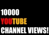 promote and deliver around 10,000 unique views to your YouTube channel..........