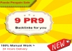 give 15 PR6 backlinks to your website in 24 hours