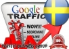 I send 1000 visitors via Google.se by Keyword to your website