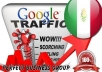 I send 1000 visitors via Google.com.mx by Keyword to your website