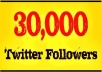 Get You 20,000+(20k+) Stable twitter followers to your twitter account