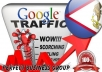 I send 1000 visitors via Google.as Keyword to your website