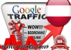I send 1000 visitors via Google.at Keyword to your website