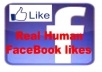 Get You 1055+ Real facebook fanpage LIKE OR FAN only