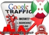 I send 1000 visitors via Google.bi Keyword to your website