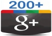 provide you ★★★ 200+  ★★★ plus Google Circles★★★with in 24 hours★