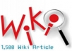 l give you 1,500 Wiki Backlinks to boost your website's rankings