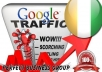 I send 1000 visitors via Google.ci Keyword to your website