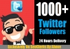 ADD 1000 [PERMANENT] Twitter Follower To Your Page Within Few Hours