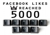 give you 5000+ Real Facebook Likes / Fans Guaranteed to your Fanpage