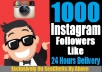 Get 1000 [PERMANENT] Instagram Follower OR Like In Your Profile