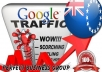 I send 1000 visitors via Google.co.ck Keyword to your website