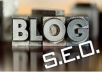 seo and make your Blog SEO friendly and you can get rocking traffic