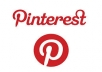 I will give you 555+ pinterest followers, 100% real and active user