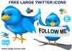 Give you *2555* twitter followers to any twitter account Only
