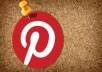 Get you **275+**  pinterest Followers, 100% real & Genuine only