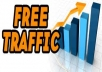 teach you how to get Free Unlimited Traffic-Instant DOWNLOAD, you can got 5,000 to 30,000 real unique visitors daily