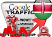 I send 1000 visitors via Google.co.ke by Keyword to your website