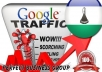 I send 1000 visitors via Google.co.ls by Keyword to your website