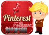 524+ Pinterest Followers 100% real  on your website