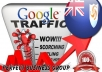 I send 1000 visitors via Google.com.ai by Keyword to your website