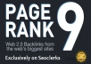 I will manually create 20 PR9-PR8 Google Safe[Penguin & Panda] Backlinks from AUTHORITY Sites + Ping them