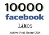 I will provide you 10,000 +++ (10k) facebook fanpage likes, quick and safe delivery time, you can order 100 time for same page