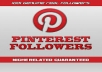 provide You, Real Human Verified 400+ High Quality Pinterest Followers