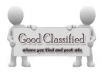 I will post your classified ad to Top 20 to 25 classified websites, manually