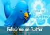 Give you 760+ Twitter Followers, 100% real & Genuine only