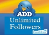 i will Show You Where To Get Unlimited TWITTER followers