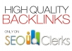 make high QUALITY 2000 blog comment backlinks