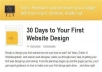 I will Give You Tutsplus – 30 Days to Your First Website Design