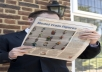 create a Newspaper Picture with your Logo or Picture