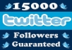 add 15000+ Good Quality Twitter Followers To Boost Up Your Followers Count