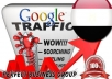 I send 1000 visitors via Google.com.eg by Keyword to your website