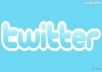 add 15000+ plus AAA Twitter Followers To Your TwitTer Profile Follow In 26 Hrs