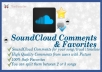 give you 100+ SoundCloud Comments and 100+ Favorites to your song / track / timeline you can also split them@!@