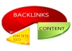supply 100 PR7+ Backlinks 20 Google Plus, 20 Delicious, 20 Pinterest, 20 Folkd, 20 StumbelUpon for your site with tittle and keywords for