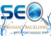 provide Back LINK Ranking Projection for