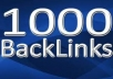 create 1000 Profile Back links Plus Promote Your Page To Facebook,Twitter for