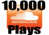 increase you Soundcloud plays on up to 5 different tracks up to 10000 in Total for