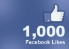 give you 3000 facebook likes