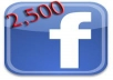 give 2500 USA Facebook Likes to your Facebook fanpag, photo, website  for