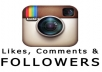 I will get you 300++ active instagram followers and tons of likes and comments